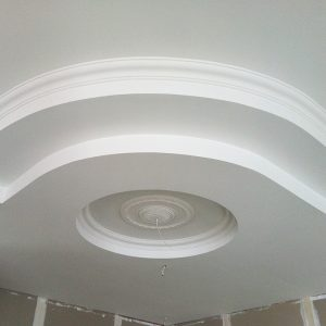 specialty plastering - ceiling centrepiece