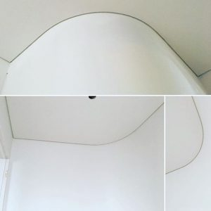 curved plastering