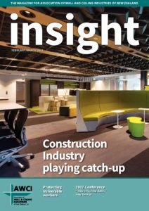 Association of Wall and Ceiling Industries NZ Insight Magazine March 2017