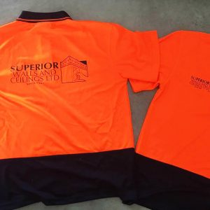 superior walls and plastering - hi vis gear